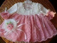 vestidinho de croche para bebe - Pesquisa Google