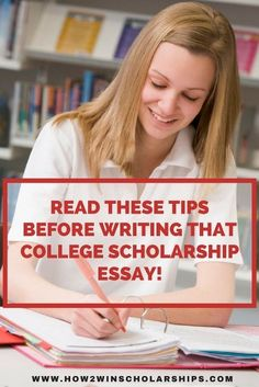Scholarship Essay Tip Quote Box  Note The Scholarship Essay Word