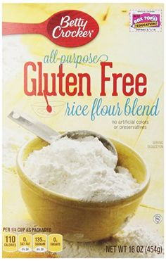 Betty Crocker All Purpose Gluten Free Rice Flour Blend, 16 oz, 6 Pack >>> Be sure to check out this awesome product.
