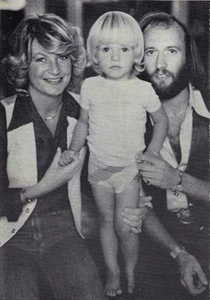 Maurice with Yvonne and Adam