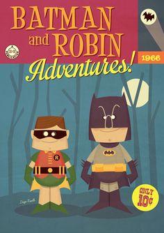 Batman And Robin Adventures by Diego Riselli