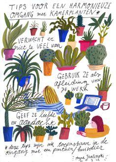 omgaan met planten