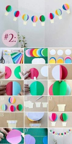 Pocket 3 recipes to decorate the banquet room with paper tha.- Pocket 3 recipes to decorate the banquet room with paper that makes anyone look … Pocket 3 recipes to decorate the banquet room with paper that makes anyone look enchanted - School Decorations, Diy Party Decorations, Paper Decorations, Preschool Crafts, Diy And Crafts, Crafts For Kids, Arts And Crafts, Decoration Creche, Diy Paper