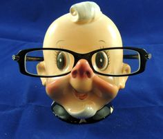 1960's Eye Glass Stand/Holder Spectacle Rest Made by VinteCleCtiC