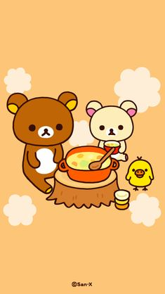 Kawaii Style, Kawaii Cute, Rilakkuma Wallpaper, Food Sketch, Sanrio Characters, All Things Cute, Kawaii Drawings, Kawaii Fashion, Fnaf