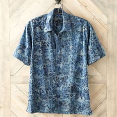 This handsome shirt showcases the skillful technique and visual boldness of Indonesian batik. Indonesian Batik Heritage Shirt | National Geographic Store