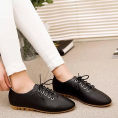 7b165411d06 Summer Artificial Leather Flat Shoes from Femaleo. Shop more products from  Femaleo on Wanelo.