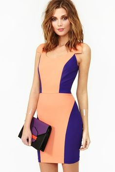 Fancy - Bright Angles Dress