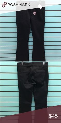 Adriano Goldschmied Jeans the New Legend AG jeans black in color the New Legend Flare leg NWT AG Adriano Goldschmied Jeans Flare & Wide Leg