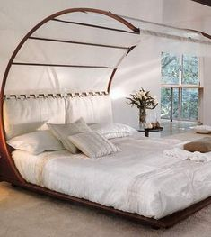 feng shui bedroom | Read more about Feng Shui Mantra Bed with Canopy