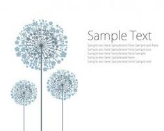 Image result for dandelions drawing