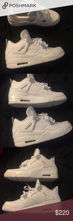 a5a701a5517b Jordan Pure Money 4s great condition . willing to negotiate price Jordan  Shoes Sneakers Pure Money