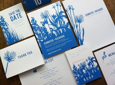 Printable Complete Wedding Invitation Kit Bluebell by empapers, $129.00