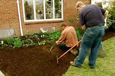 with landscape contractor Roger Cook   thisoldhouse.com   from How to Edge a Garden Bed