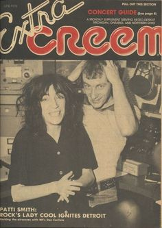 Patti Smith, Creem Magazine, June 1976 via