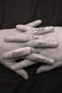 Finger Written Save The Date Photo Idea. See more here: 27 Cute Save the Date Photo Ideas | Confetti Daydreams ♥ ♥ ♥ LIKE US ON FB: www.facebook.com/confettidaydreams ♥ ♥ ♥ #Wedding #SaveTheDate #PhotoIdeas