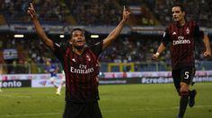 @Milan #Bacca #Goleador #9ine
