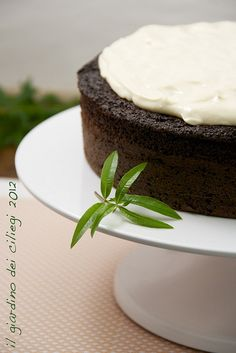 Chocolate Guinness Cake with whiskey frosting