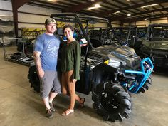 Congratulations to Ethan and Jessica Freeman from Waynesboro, MS for purchasing a 2017 Polaris Ranger XP 1000 High Lifter Edition from Hattiesburg Cycles. #polaris