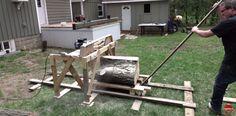 Cut Your Own Wood Slabs With a DIY Band Saw Mill  - PopularMechanics.com