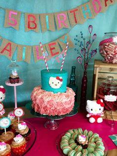 Hello Kitty Birthday Party Ideas | Photo 8 of 17 | Catch My Party