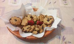Kókuszos-banános zabpehely keksz Chips, Cookies, Food, Crack Crackers, Potato Chip, Biscuits, Essen, Meals, Cookie Recipes