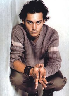 Johnny Depp, male actor, hands, stylish, steaming hot, intense eyes, gorgeous, sexy, eyecandy, hands, portrait, photo