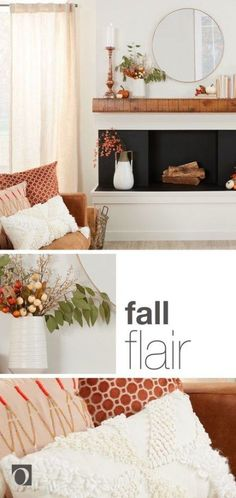 As the weather starts to cool, it's time prepare your home for autumn decorating. Check out our guide on 14 Decorations to Transition from Summer to Fall for ideas on creating the perfect fall feel in your home. Home Renovation, Home Remodeling, Autumn Decorating, Fall Decor, Printed Cushions, Easy Projects, Home Improvement Projects, Home Decor Accessories, Cheap Home Decor