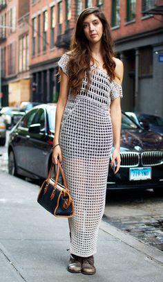 Love this crochet dress