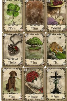 78 Whispers In My Ear: Deck Review - Under the Roses Lenormand