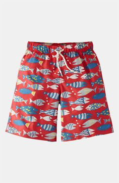 Mini Boden Swim Shorts (Toddler, Little Boys & Big Boys) available at #Nordstrom