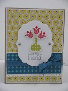 Sneak Peek - Bright Blossoms by jeny_79 - Cards and Paper Crafts at Splitcoaststampers