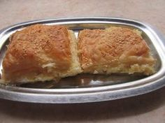 Greek Recipes, Pie Recipes, Dessert Recipes, Desserts, Greek Pastries, Greek Appetizers, Greek Cooking, Food Inspiration, Macaroni And Cheese
