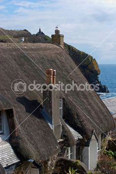 Cadgwith Cove Village Cornwall — Stock Photo #22652445