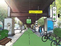 Berlim anuncia construção de ciclovia em meio a uma horta urbana