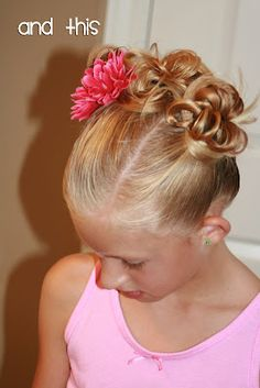 Triple buns, cute, perfect for summer & sports!
