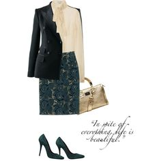 """""""Skirt by NO.21"""" by fashionmonkey1 on Polyvore"""
