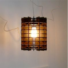 Industrial Modern Cardboard Pendant Light by UrbanAnalog on Etsy, $46.95 Modern Industrial, Color Combos, Lamps, House Design, Lights, Unique Jewelry, Pendant, Etsy, Vintage