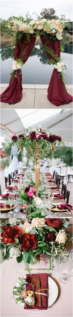 25 burgundy and navy wedding color ideas boda colores para boda top 10 october wedding colors and wedding invitations for fall 2015 junglespirit Gallery