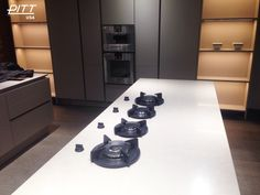 Gas range :: cooktop:: linear :: project from PITT cooking USA.