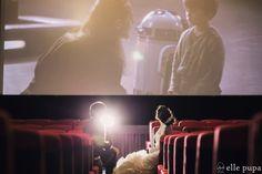 映画館で前撮りロケーション撮影  *elle pupa blog*