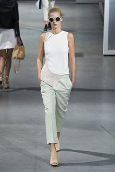 Pin for Later: This Runway Rainbow Will Get You Superexcited For Spring Mint Condition 3.1 Phillip Lim Spring 2015