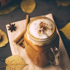 We've perfected the recipe for a dynamite dairy-free pumpkin spice latte, complete with pumpkin puree and two cups of Elmhurst® Milked Oats Barista Edition. What Is Pumpkin Spice, Pumpkin Spice Syrup, Vegan Recipes Easy, Fall Recipes, Dairy Free Whipped Topping, Coffee Shop Menu, Canned Pumpkin, Pie Dessert, Food And Drink