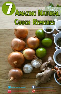 7 Amazing Natural Cough Remedies