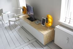 A great Bestå-hack!  http://www.ikeahackers.net/2012/05/clean-sleek-media-console-from-besta.html