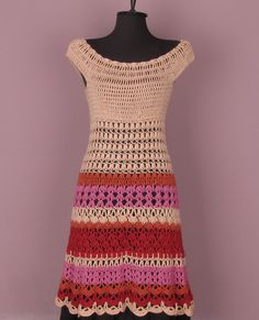 Pretty crochet dress