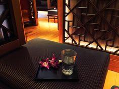 Tea room at The Mandarin Spa at Mandarin Oriental, Hong Kong