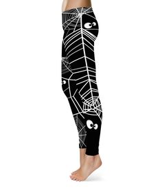 How could you not have a Happy Halloween wearing these super fun leggings…