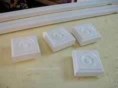 painted corner blocks