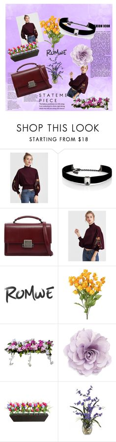 """Fashion Icon"" by fashionable18 ❤ liked on Polyvore featuring Kenneth Jay Lane, Yves Saint Laurent, Improvements and Cara"